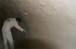 Demonstration - Sanierung eines Gewölbekellers